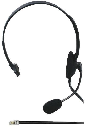 König - Fejhallgató és mikrofon - König CMP-HEADSET28 mono fejhallgató ... 7262dc5db3